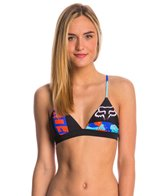 FOX Swimwear Camoto Fixed Triangle Bikini Top