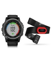 Garmin fenix 3 HR Multi-sport GPS Watch, Performer Bundle with additional Running Heart Rate Monitor