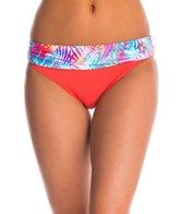 Sunsets Island Heat Banded Bikini Bottom