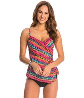 Miraclesuit Swimwear Night Lights Panamore Tankini Top