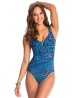 Miraclesuit Purr-Fection Escape One Piece Swimsuit