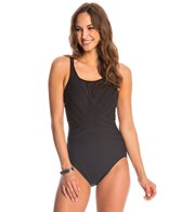 Miraclesuit Solid High Neck One Piece Swimsuit