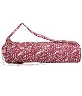 Barefoot Yoga Printed Cotton Yoga Mat Bag