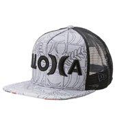 Hurley Men's Sig Zane Eolakoa Trucker Hat