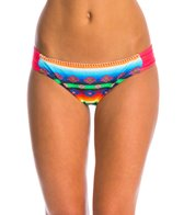 Hobie Swimwear Sonora Serape Sash Side Hipster Bikini Bottom