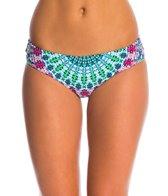 Hobie Swimwear Mazatlan Medallion Skimpy Hipster Bikini Bottom