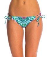 Hobie Swimwear Mazatlan Medallion Adjustable Hipster Bikini Bottom