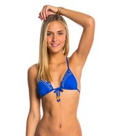 Bikini Lab Swimwear Bead It Triangle Bikini Top