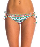 Bikini Lab Swimwear Ikat Stop This Feeling Adjustable Hipster Bikini Bottom