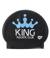 King Swim Club Custom Latex Swim Cap