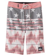 Quiksilver Boys' Swell Americana Boardshorts (8-16)