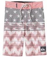 Quiksilver Boys' Swell Americana Boardshorts (4-7)