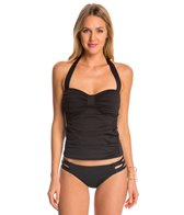 Tommy Bahama Pearl Solids Halter Tankini Top