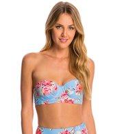 Betsey Johnson Swimwear Urban Rose Bump Me Up Underwire Bikini Top