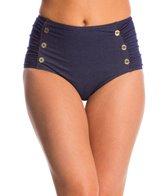 Betsey Johnson Swimwear Carousel High Waist Bikini Bottom