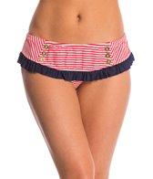 Betsey Johnson Swimwear Carousel Skirtini Bottom