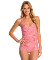 Betsey Johnson Carousel One Piece Swimsuit