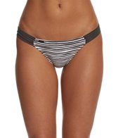 Lole Black Stripe Rio Hipster Bikini Bottom
