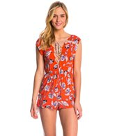MINKPINK Floating in the Tropics Cover Up Romper