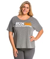 Sun Salutations Plus Size Short Sleeve Tee