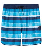 Adidas Men's Big & Tall Water Stripe Swim Trunk