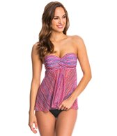 Profile by Gottex Swimwear Rio Flyaway Tankini Top (D-Cup)