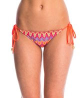 Luli Fama Swimwear Song of the Sea Brazilian Tie Side Bikini Bottom