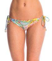Luli Fama Swimwear Siren Dance Brazilian Tie Side Bikini Bottom