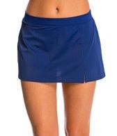 Caribbean Joe Side Slit Skirted Bikini Bottom