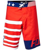 FOX Men's Red White and True Boardshort