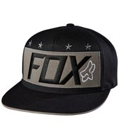 FOX Men's Red White and True Snapback Hat