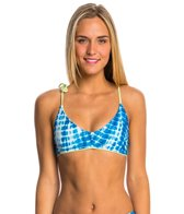 Seea Shibori Pavones Bikini Top