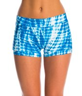 Seea Shibori Pavones Bikini Bottom