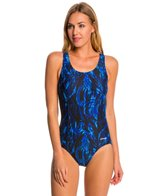Waterpro Storm Fit-Back Moderate Fitness One Piece Swimsuit