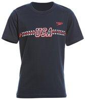 Speedo Youth Unisex Lochte Jersey Tee Shirt