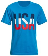 Speedo Youth Unisex USA Tee Shirt