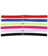 Nike Swoosh Sport Headbands, 6-Pack