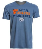 USA Swimming Men's Athletes Crew Neck T-Shirt