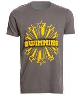 USA Swimming Men's Star Swimming Crew Neck