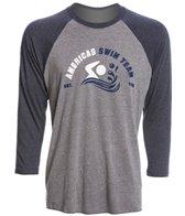 USA Swimming Unisex Team Raglan T-Shirt