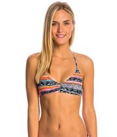 Volcom Swimwear Free Current V-Neck Bikini Top