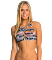 Volcom Swimwear Free Current Crop Bikini Top