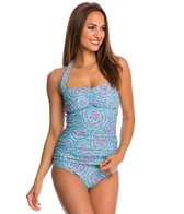Helen Jon Mandalay Convertible Retro Tankini Top