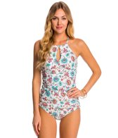 Helen Jon Bali Hai High Neck Tankini Top
