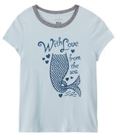 Billabong Girls' With Love From Sea S/S Tee (7-14)