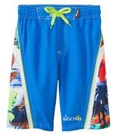 Big Chill Boys' Tropical Blur Swim Trunks (4-7)
