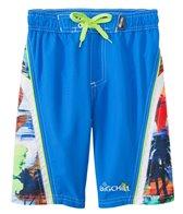 Big Chill Boys' Tropical Blur Swim Trunks (8-18)