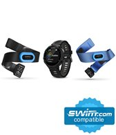 Garmin Forerunner 735XT Multisport Watch Tri Bundle with Heart Rate Monitors