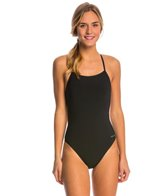 Dolfin Graphlite Solid Cross Back One Piece Swimsuit