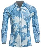 Billabong Girls' 1mm Indigo Peeky Front Zip Wetsuit Jacket